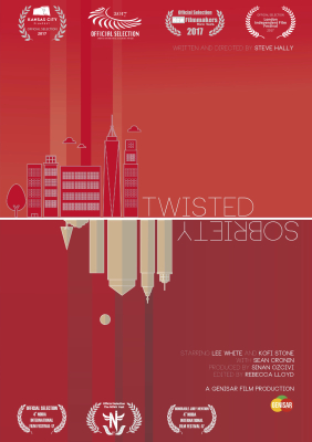 Twisted Sobriety makes Official Selection of 6 world festivals!