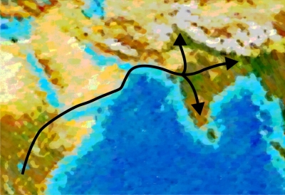Out-of-Africa migration to Bharat