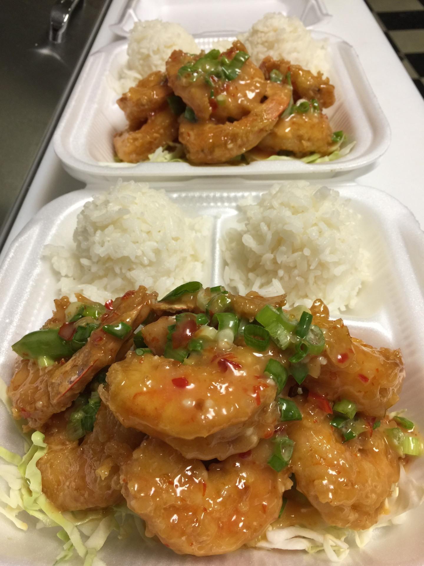North Shore Shrimp  $15.95/$9.95