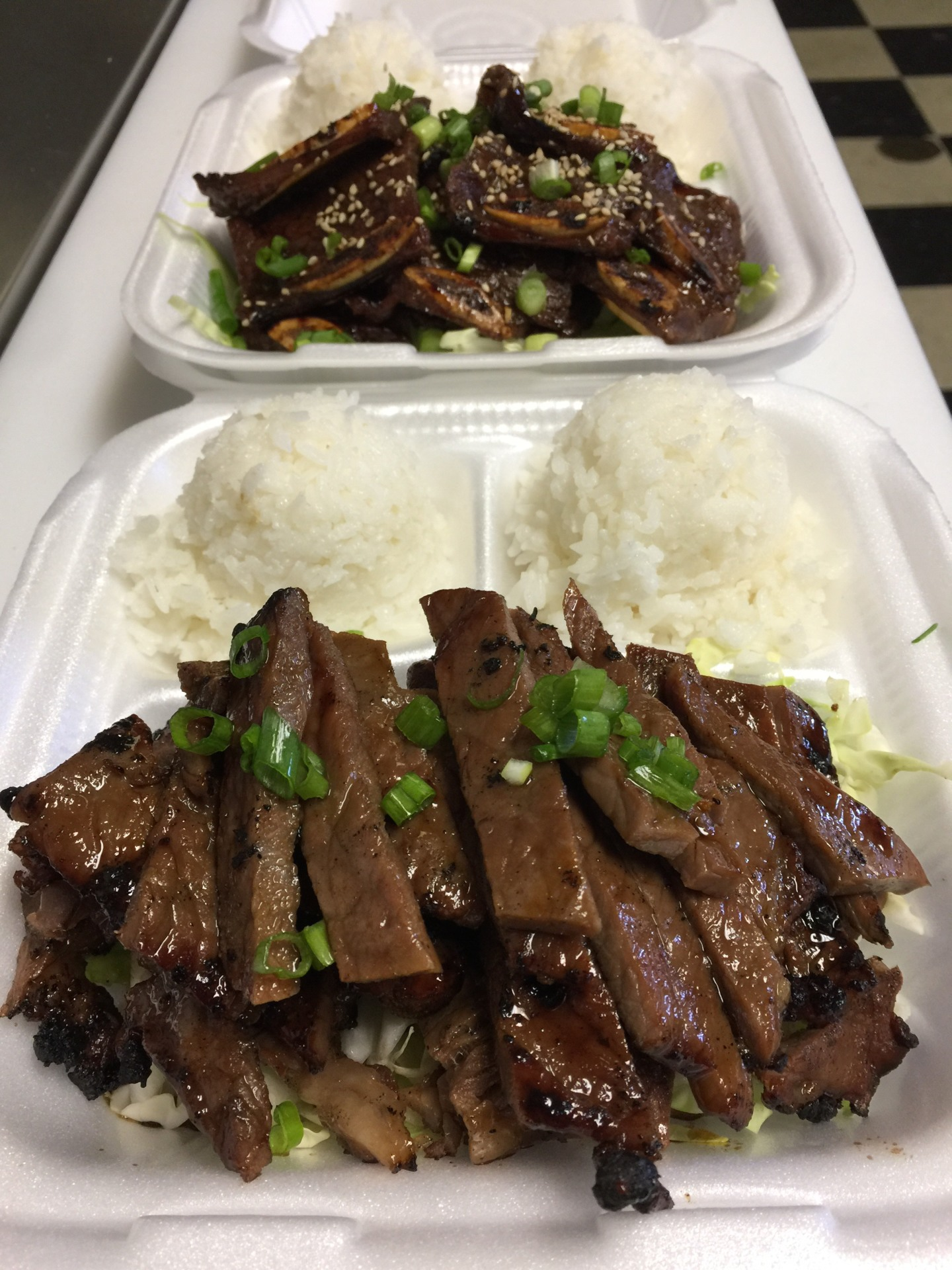 Teriyaki Beef  $14.95/$8.95