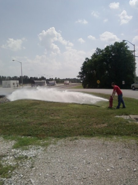 Private Hydrant Flushing