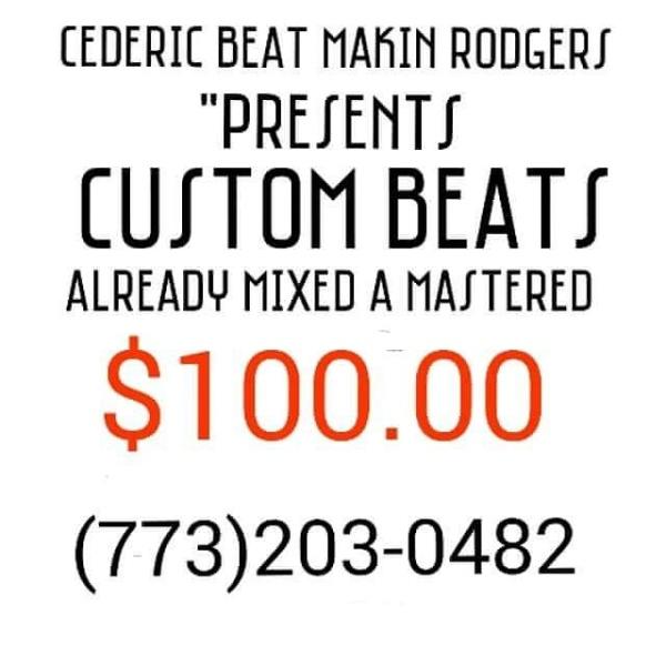Custom beats sign