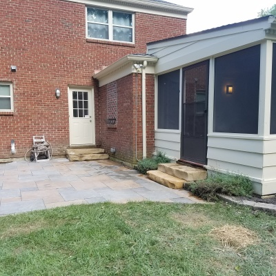 Patio sealing and repair