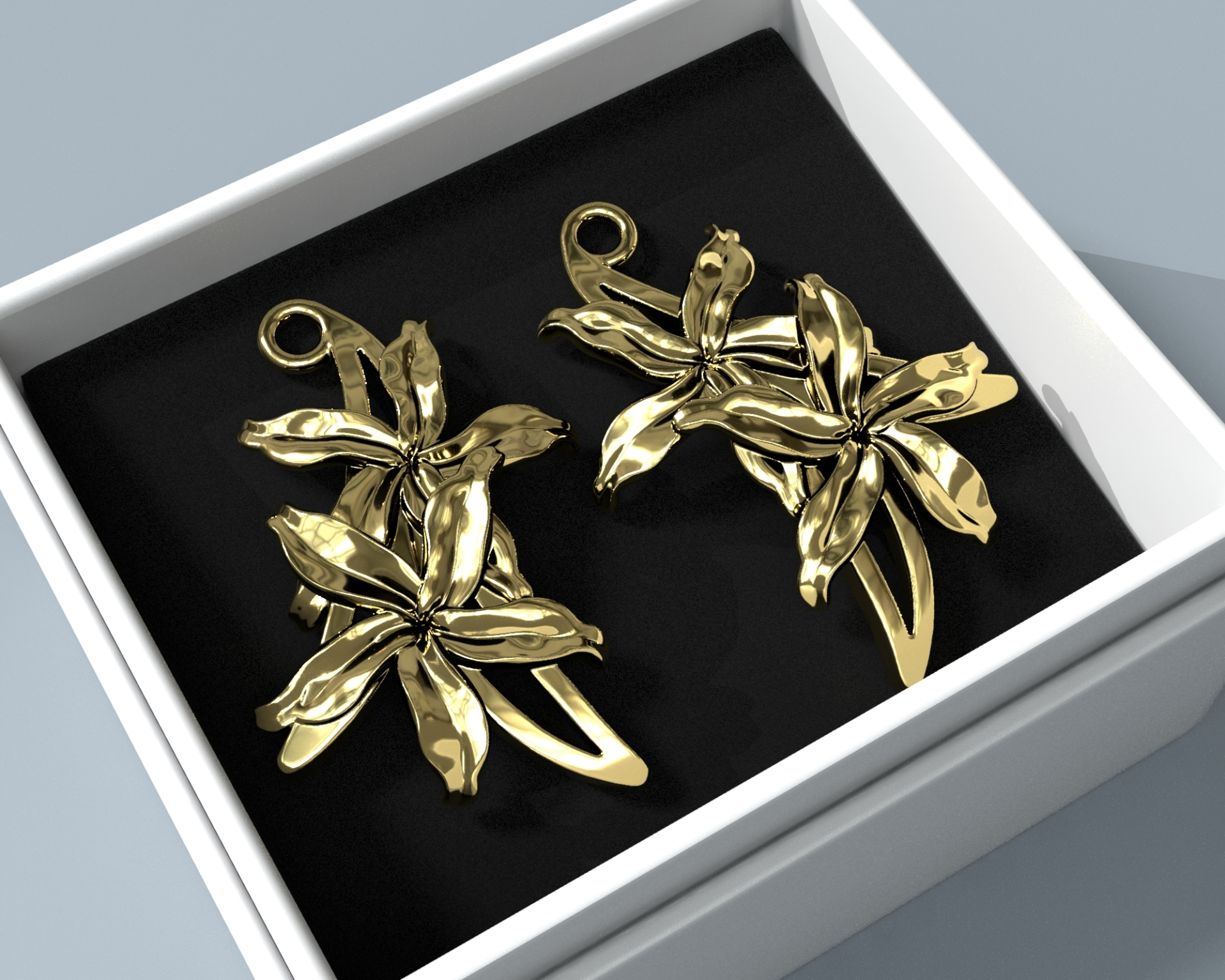 Sampaguita Earrings