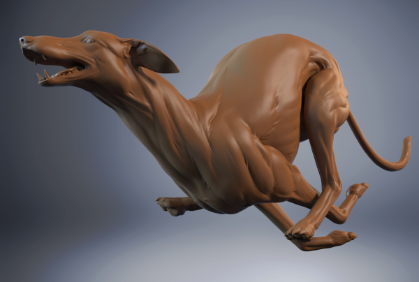 Greyhounds Sculpt Detail
