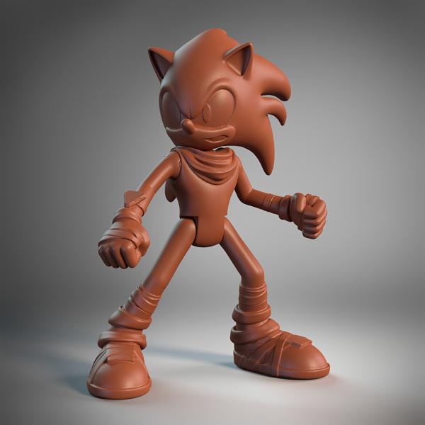 Sonic Posed
