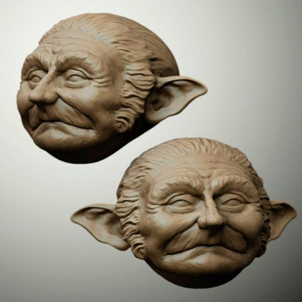 Gnome Head Study