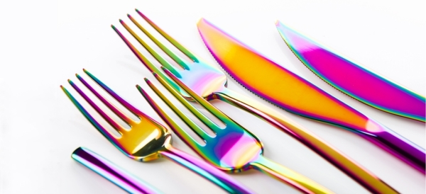 Rainbow Cutlery Sets - Fypple
