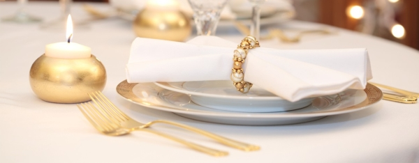 Gold Coloured Cutlery - Fypple