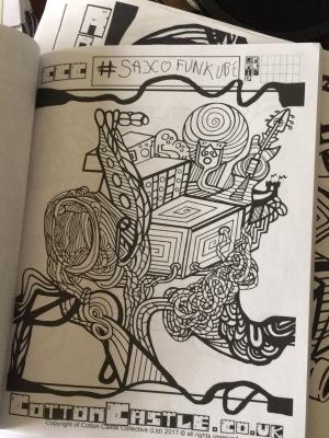 Saxofunkube! Page sample ACB