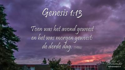 Gen 1:13
