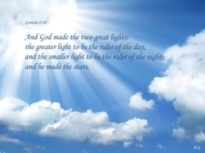 Gen 1:16