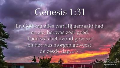 Gen 1:31