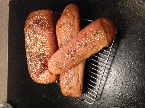Whole Grain Red Winter Wheat Bread