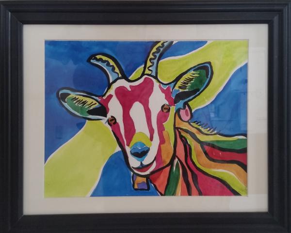 Rainbow the Happy Goat - Current Bid $100.00