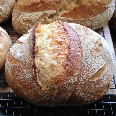 Artisan Bread cooked in Cast Iron Dutch Oven