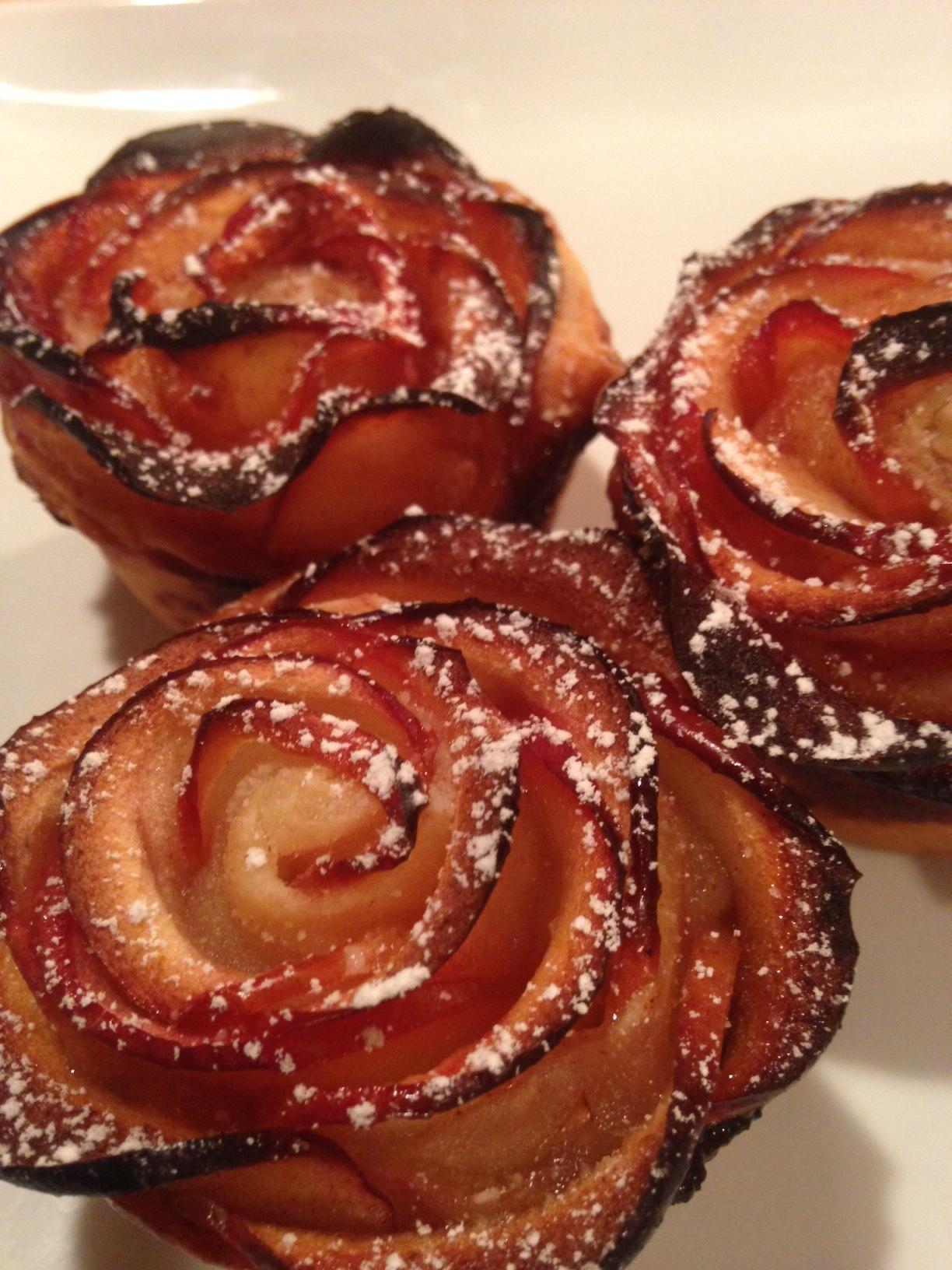 Apple Roses