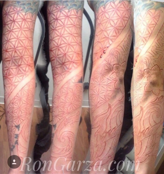 Sacred Geometry sleeve -