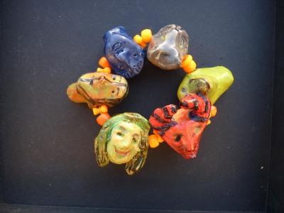 ceramic bracelet - Susann