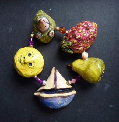 ceramic bracelet - Sabine