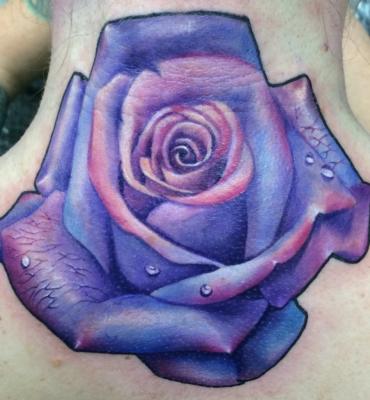 rose, rose tattoo, tattoo, art, Nakota