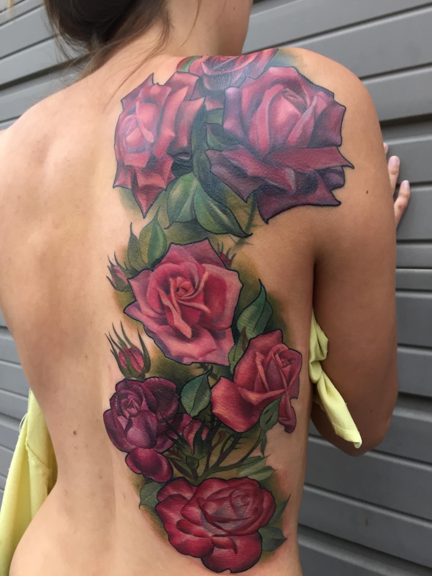 Rose, roses, tattoo, art, realism rose, pretty, beautiful, floral, floral tattoo, orange county tattoo, nakota garza