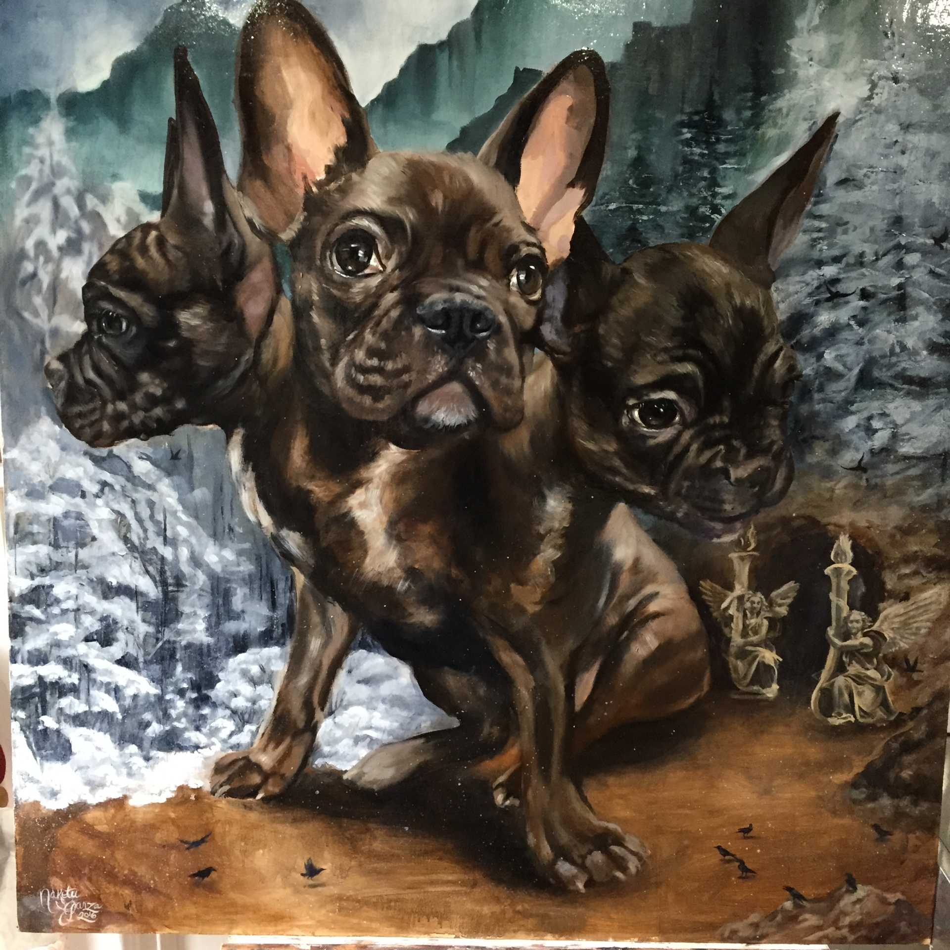 Cerberus, guardian to the gates of hell