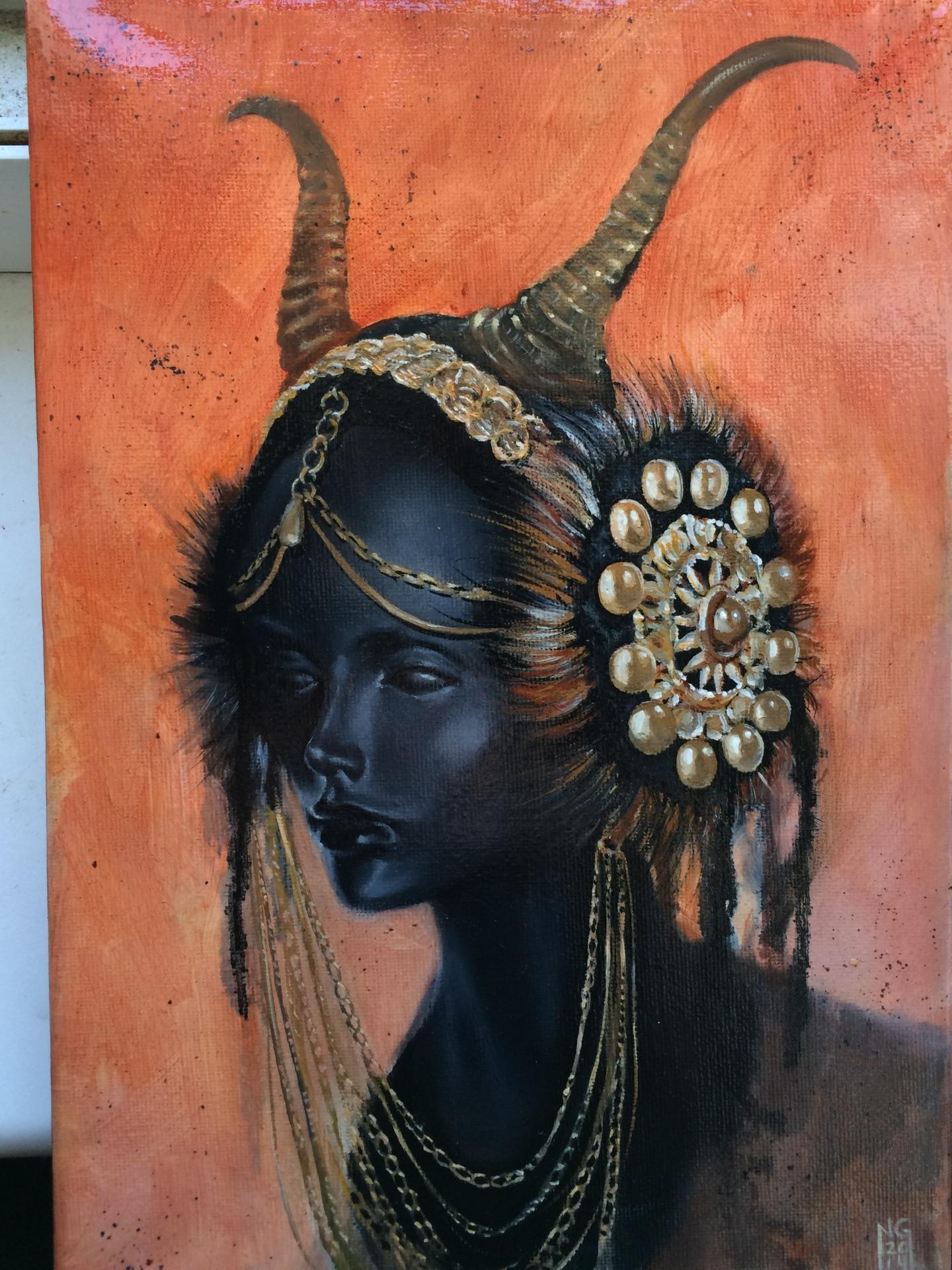 Warrior Queen born from ash