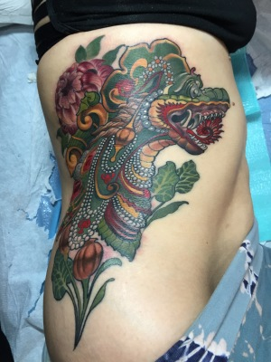 rib tattoo, tattoo, art, nakota garza