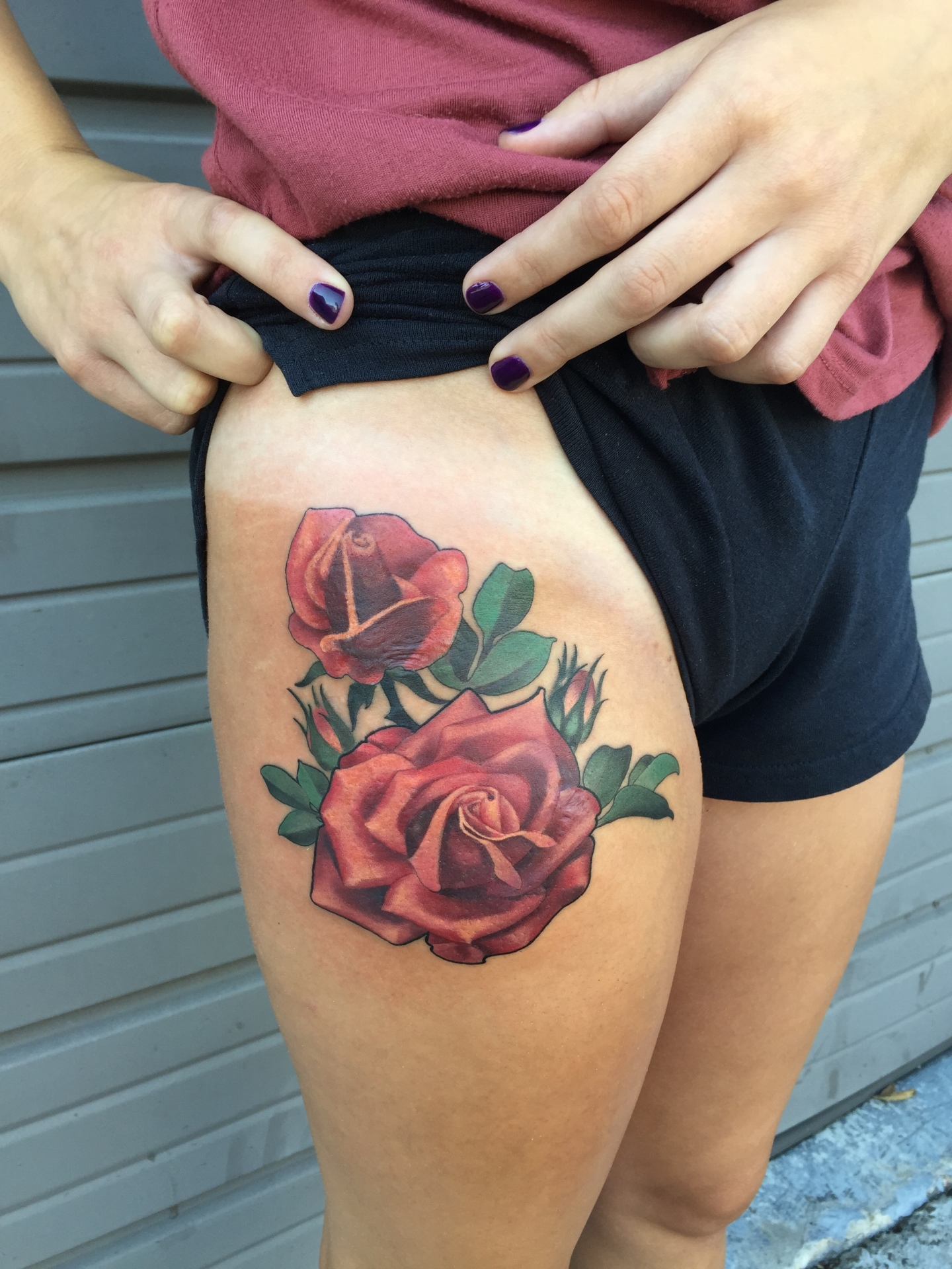 rose, coverup tattoo, art, nakotagarza, nakotaart