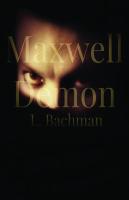 the blasphemer series, maxwell demon, l. bachman, bachman, horror, dark fantasy