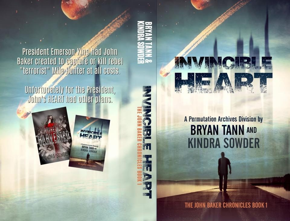 Cover Art! Invincible Heart by Bryan Tann & Kindra Sowder