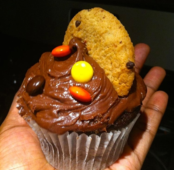 Sexual Chocolate Cupcake