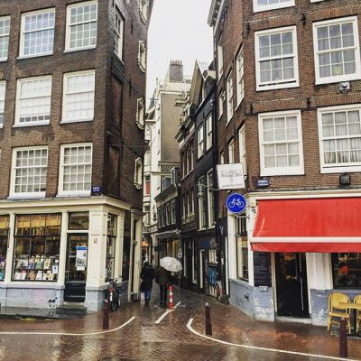 Day 116 - Rain in Amsterdam