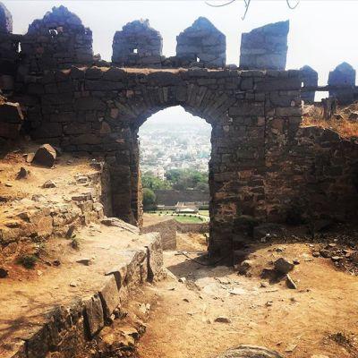 Day 59, Hyderabad Fort Adventure