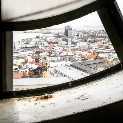 Day 283, Reykjavik: Behind the Clock