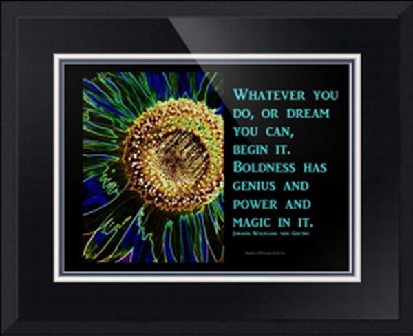 sunflower, Goethe