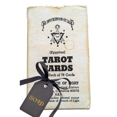 The Brotherhood of Light Egyptian Tarot Cards