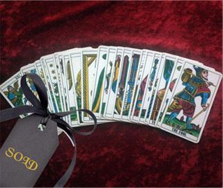 1974 Tarot Classic Tarot Card Deck Made in Switzerland by AGMULLER