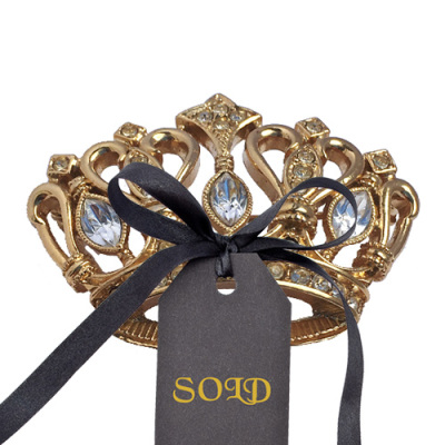 KJL for Avon Glittering Crown Pin