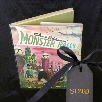 Monster Rally by Chas Addams