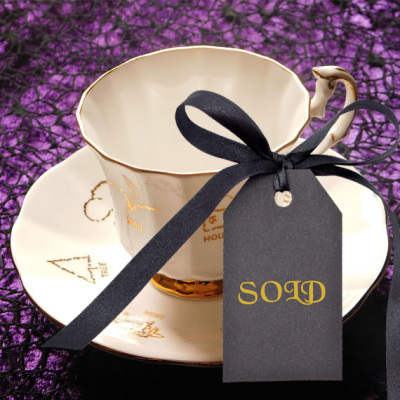 Red Rose Tea Cup of Fortune Set 2