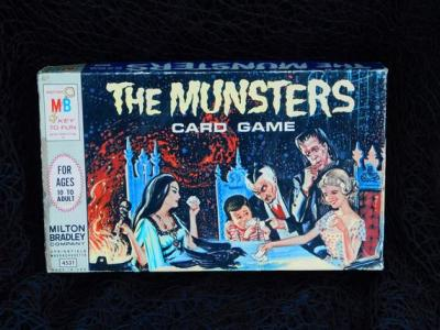 The Munsters Card Game 1964 $55 Click image for link to Etsy shop