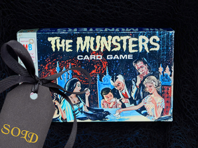 The Munsters Card Game 1964
