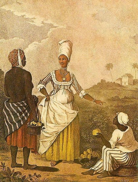 Barbados-Mixed-Girl-Painting