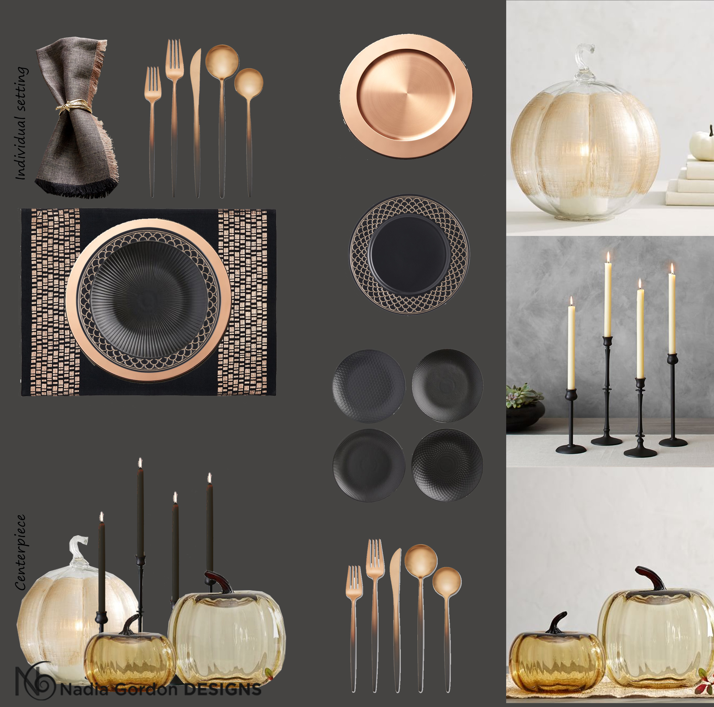 A Tablescape Inspired by Fall