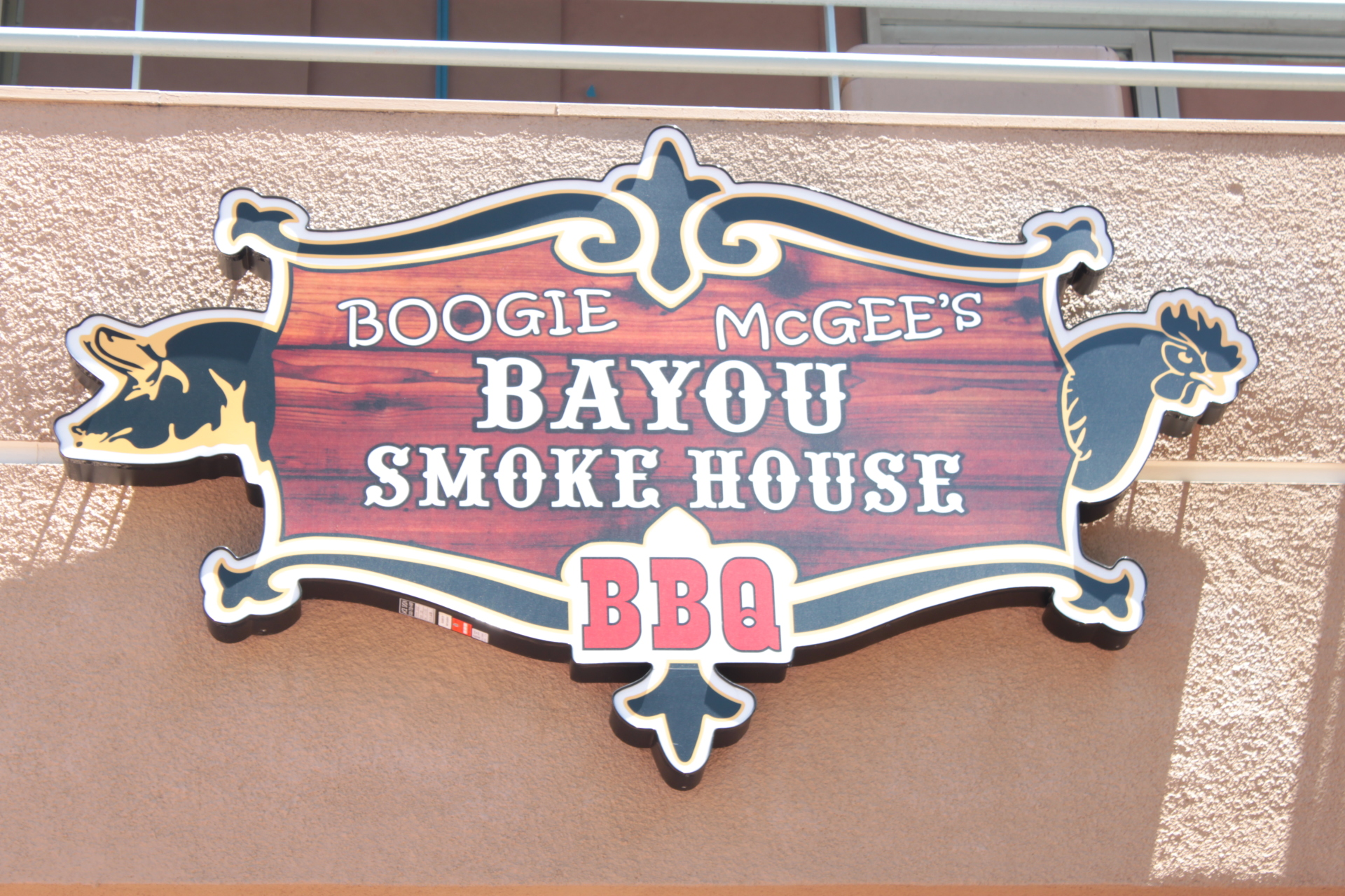 Exterior Boogie McGee's Sign