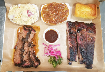 ​Half-Rack Baby Back Ribs  ​Combination Tray
