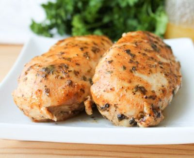 Honey Mustard Grilled Chicken Breasts