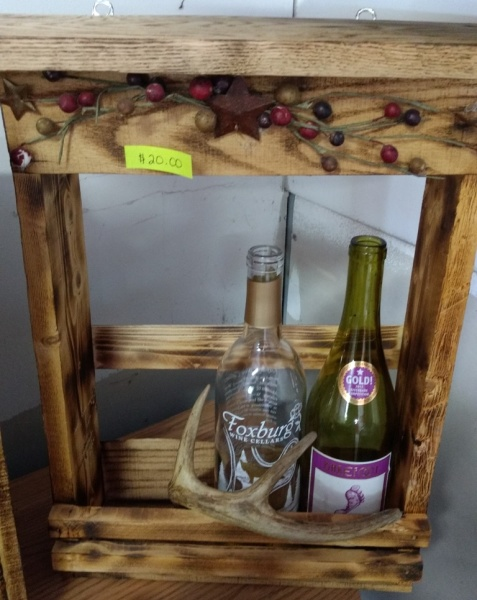 Deerhorn Wine Rack